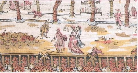 Reg arbrat del pg. de Sant Joan. Detall d'indiana. Finals s. XVIII