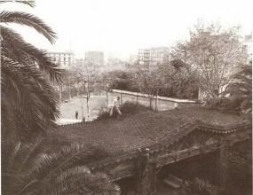 Jardí del Palauet del Marques de Santa Isabel. Frederic Ricart13.1