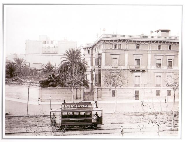 Jardí del Palauet del Marques de Santa Isabel. Frederic Ricart3