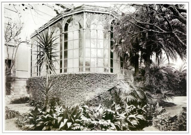 Jardí del Palauet del Marques de Santa Isabel. Frederic Ricart6