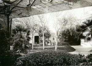 Jardí del Palauet del Marques de Santa Isabel. Frederic Ricart9