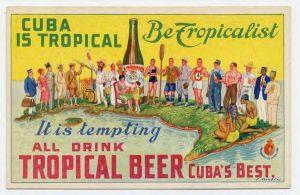 Anunci cervesa de La Tropical