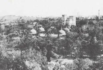 La Tropical. Vista aerea del Salon Ensueño amb les 4 torres