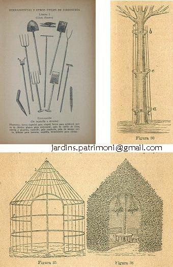 Diferents gravats de tractats de jardineria