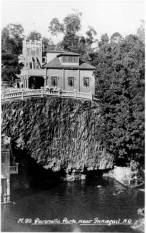 Buildings at Paronella Park Mena Creek Queensland ca.1939