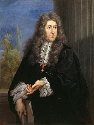 Andre Le Notre. Retrat de Carlo Maratta. 1687