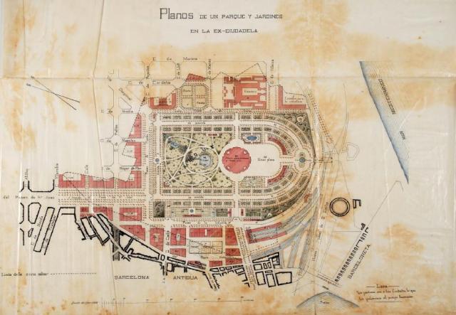 Projecte original de la Ciutadella