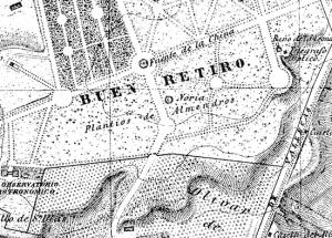 Plano de Madrid (1866)