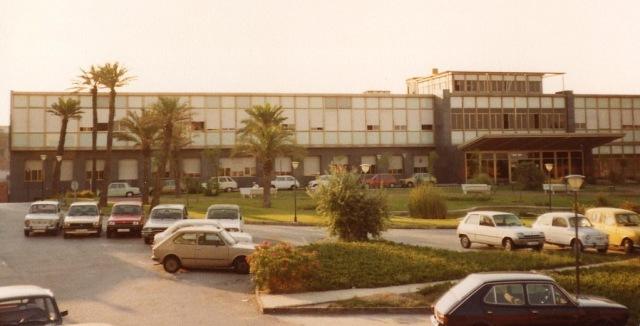 Hospital del Mar. Entrada Hospital als anys 70.1