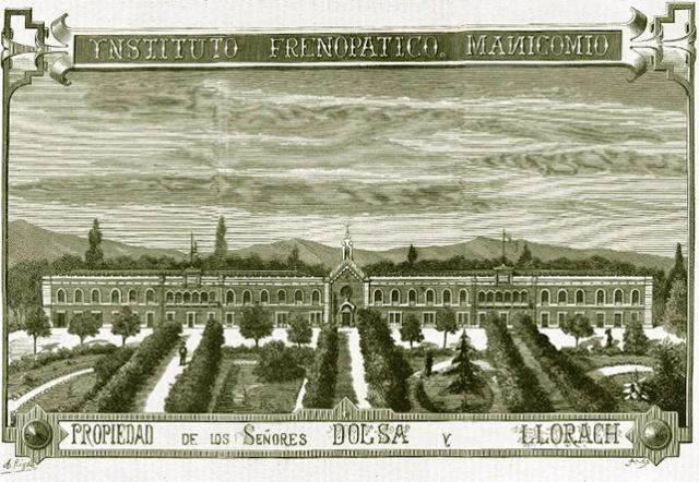 1 Frenopático. Manicomio. Propiedad de los senyores Dolsa y Llorach. La Academia, 1878.1