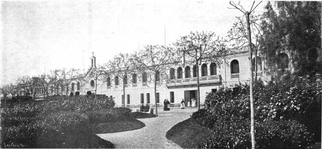 1897 Façana principal. La ilustracion Española y Americana 18970808 p 12
