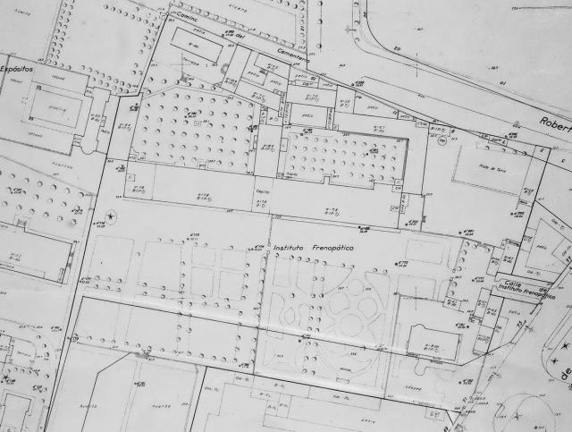 1961 Frenopatic de Les Corts. Planejament. Ajuntament de Barcelona 2 reseze