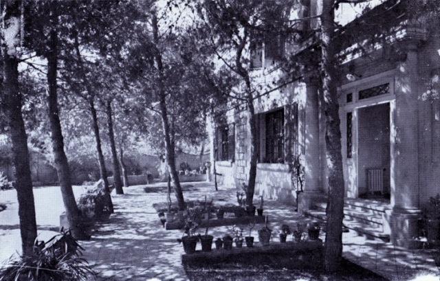 Vista de lafaçana de la torre. Habitatge particular de Maria Dolsa Sardà anys 20. Fons Intitut frenopàtic Tomàs Dolsa. AMDC resize