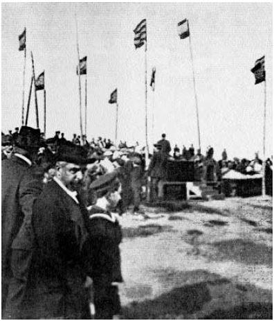 1915 Parc Bosc. Dia de l'Arbre