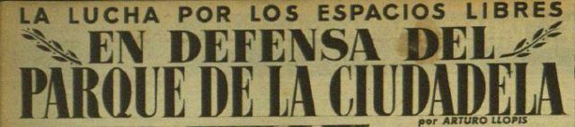Titol article defensa Parc de la Ciutadella