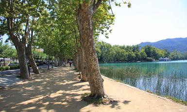 L'estany des del passeig Darder