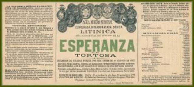 Etiqueta aigua Esperanza-1
