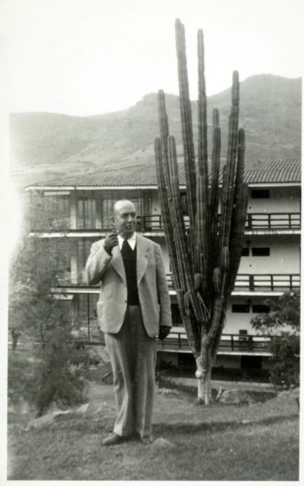 Cart.-86 Josep Carner durant la seva estada a Mèxic, ca. 1945-1950. Fons Josep Carner BNC