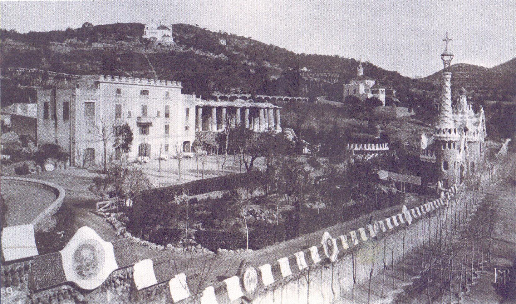 1909 Casa Larrard abans de la reforma de Gaudí., c. 1909 MUHBA