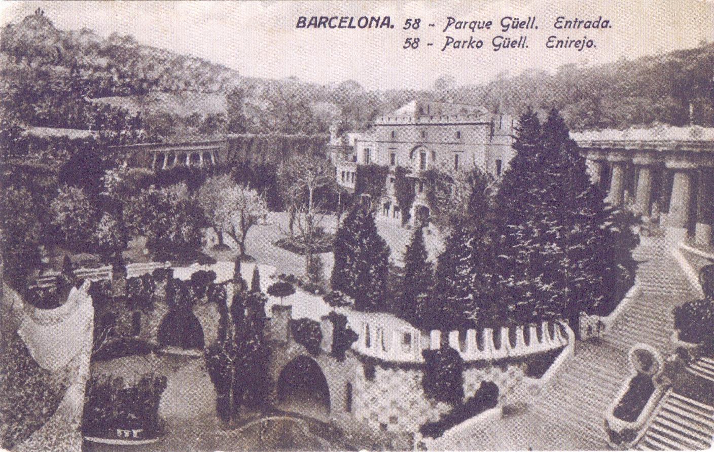 1914 Jardí elevart de la Casa Larrard, 1914, 2 Jorge Venini. MUHBA