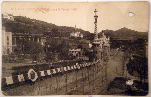 1919 Parc Guell