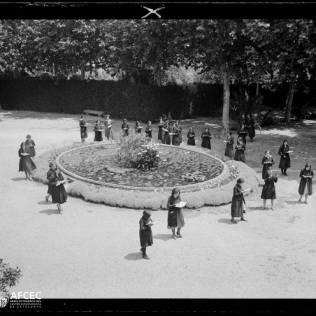 1929 Jardí del Col·legi Sagrat Cor. Ignasi Canals i Tarrats. AFCEC
